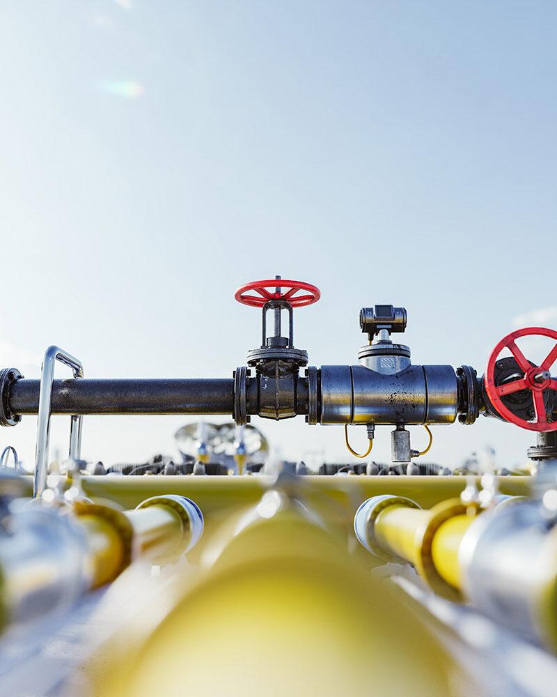 Μελέτη και επίβλεψη εγκατάστασης παροχών φυσικού αερίου